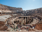004 2017 ENJOYROMESOPRALLUOGO_0082 view into Colosseo