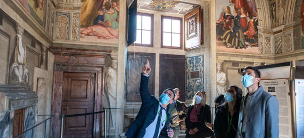 Vatican Museums - The Raphael Rooms
