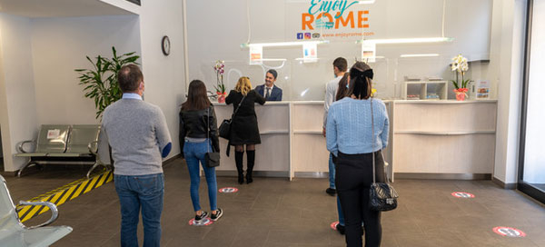 Always A Warm Welcome at Enjoy Rome