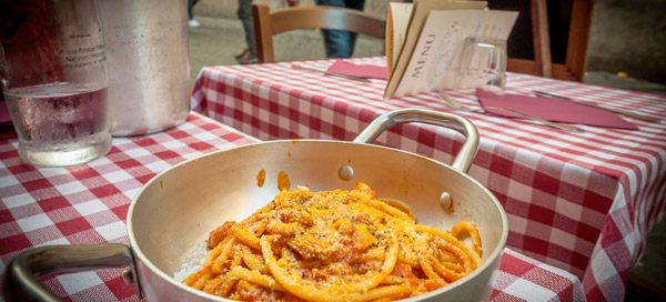 When in Rome, Enjoy Typical Roman Cuisine